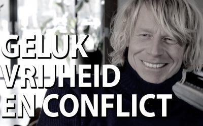 Geluk zit in vrijheid en conflict